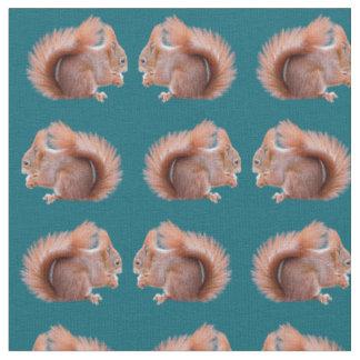 Tecido da agitação do esquilo vermelho