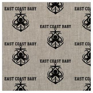 Tecido da âncora do polvo do bebê da costa leste