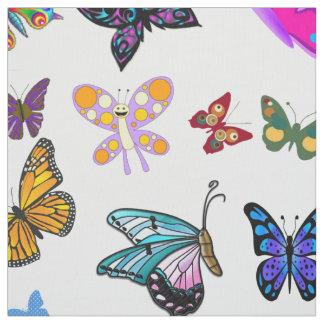 Tecido da borboleta