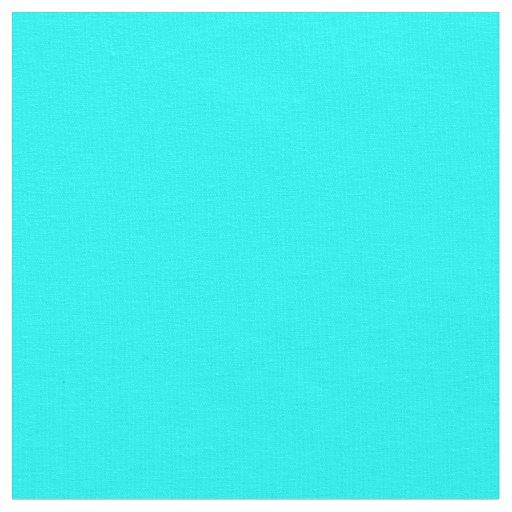 Tecido da cor sólida do Aqua