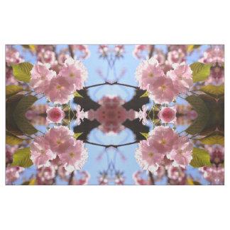 Tecido da flor de cerejeira