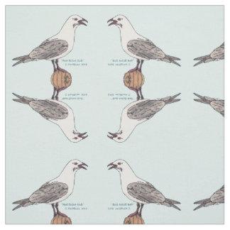Tecido da gaivota