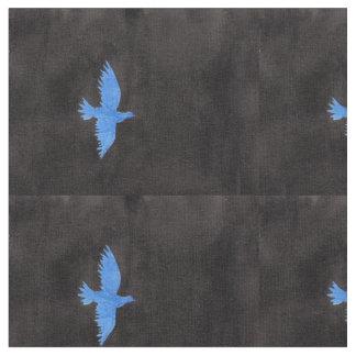 Tecido da pomba do azul