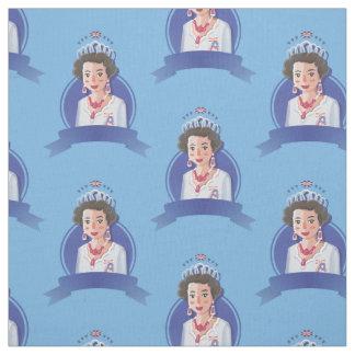 tecido da rainha elizabeth 2