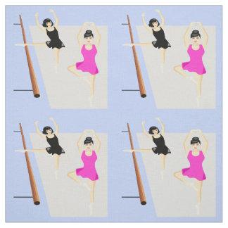 Tecido Dançarinos de balé das mulheres