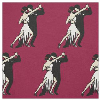 Tecido Dançarinos românticos do tango