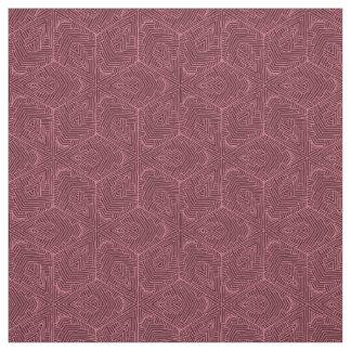 Tecido de algodão de Borgonha