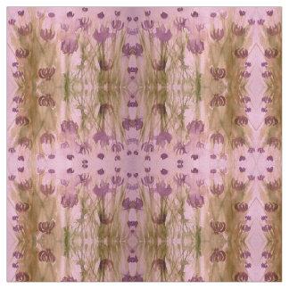 Tecido de algodão penteado costume com flores
