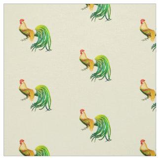 Tecido de cauda longa da galinha do galo