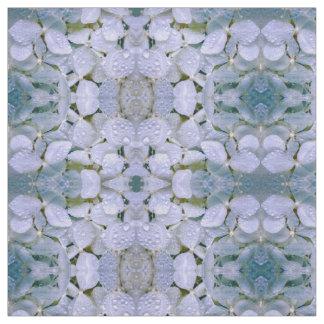 Tecido de cristal branco do Hydrangea