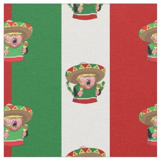 tecido de Donald Trump do mexicano