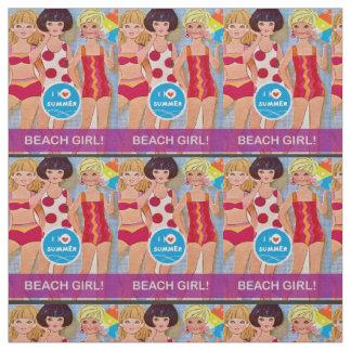 Tecido de papel da boneca da praia