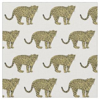 Tecido Desenho manchado chita do gato do leopardo do