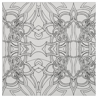 Tecido Design criativo (alguma cor)