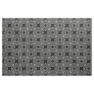 Tecido Design filigrana 2 da prata das ondas dos rolos