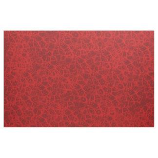 Tecido Design fino vermelho do efeito do laço do falso