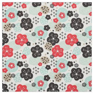Tecido Design japonês bonito dos padrões