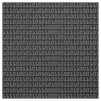 Tecido Divertimento e teste padrão de código binário
