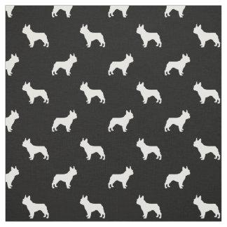 Tecido do cão de Boston Terrier - preto e branco