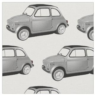 Tecido do carro do clássico de Fiat 500
