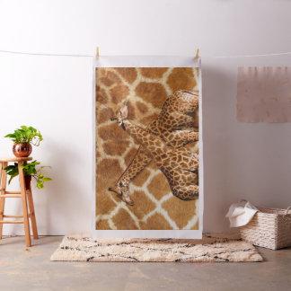 Tecido do costume das opções da imagem do girafa