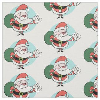Tecido do costume de Papai Noel