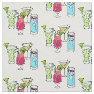 Tecido do costume dos cocktail do verão