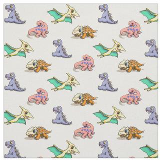 Tecido do dinossauro do bebê
