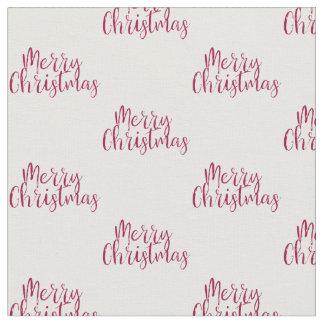 Tecido do Feliz Natal