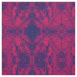 Tecido do laço do rosa selvagem