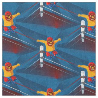 tecido do luchador