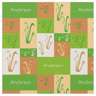 Tecido do nome da grama de pradaria