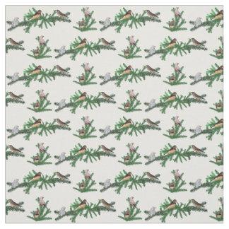 Tecido do partido do passarinho de zebra (escolha