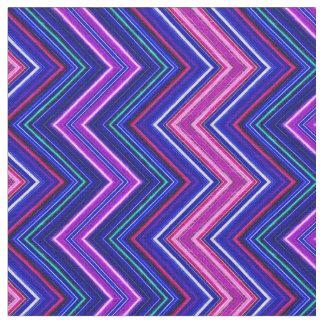 Tecido do roxo de Fractalius Chevron E-W