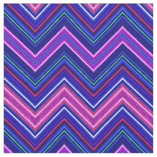 Tecido do roxo de Fractalius Chevron N-S