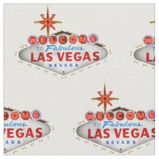 Tecido do sinal de boas-vindas de Las Vegas
