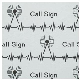 Tecido do sinal de chamada da freqüência do