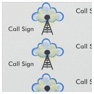 Tecido do sinal de transmissor de radioamador, de