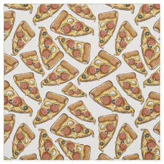 Tecido do teste padrão da pizza