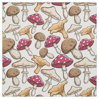 Tecido do teste padrão do cogumelo
