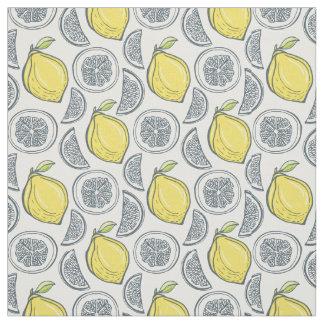 Tecido do teste padrão do limão