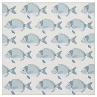 Tecido do teste padrão dos peixes