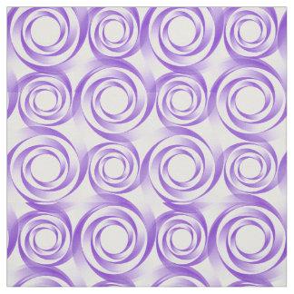 Tecido do Vortex do redemoinho da lavanda