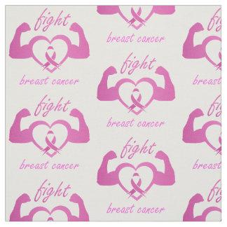 Tecido Dobrando os braços para lutar o cancro da mama