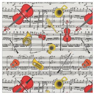 Tecido dos instrumentos musicais