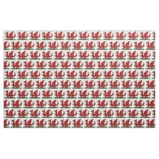 Tecido Dragão vermelho de Wales