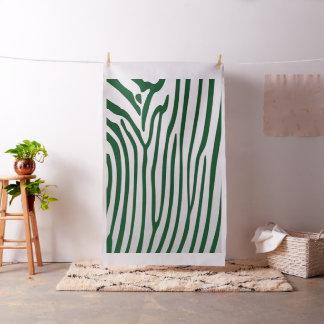 Tecido elegante yd do impressão da zebra