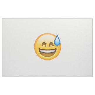 Tecido Emoji - suor frio
