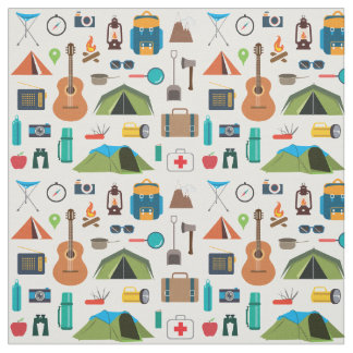 Tecido Equipamento de acampamento