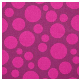 Tecido Ervilhas cor-de-rosa